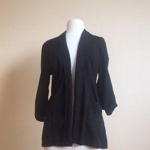 Jackets & Blazers - Rayon Summer suit jacket. Black size small.